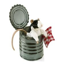 Rat in Tin Can Puppet with Moveable Head and Legs MPN 3084 by Folkmanis, 3 & Up