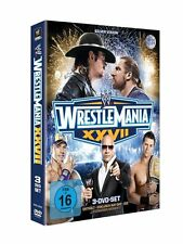 WWE WrestleMania 27 2011 3er [DVD] NEU DEUTSCH XXVII Rock