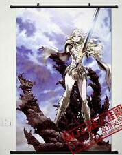 """Home Decor Poster Wall Scroll 23.6""""x35.4"""" G179 Cosplay Anime Claymore"""
