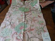 SCALAMANDRE Fabric Remnant - PONDICHERRY 2 - HAND PRINTED - FRANCE - 36x24  $231