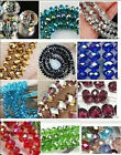 HOT! Wholesale New 8 Colors Crystal Loose Beads 4X6MM 98PC