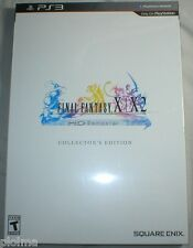 FINAL FANTASY X / X-2 COLLECTOR'S EDITION HD Remaster Brand New PS3 Game IN-HAND