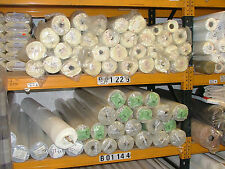 50 Metre Cream 100% Total Blackout & Thermal Curtain Fabric Lining +24 HOUR POST
