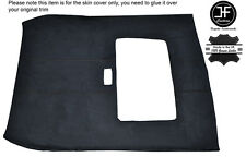 BLACK STITCH SUNROOF ROOF HEADLINING PU SUEDE COVER FITS ROVER 25 MG ZR 99-05