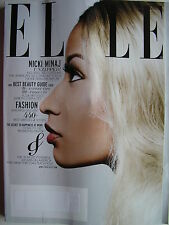 NICKI MINAJ  April, 2013 ELLE Mag  BEAUTIFUL LINGERIE  440+ BEST DRESSES & SHOES