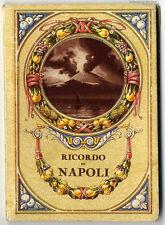 Ricordo di Napoli: Leporello mit einem großen Panorama um 1900