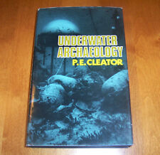 Underwater Archaeology P.E. Cleator Scuba Diving Shipwreck Exploration Book