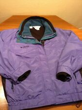 COLUMBIA BUGABOO  3in1 Coat WOMENS Large L 2 in 1 w/ FLEECE liner