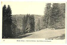 CPA 39 Jura Gizia Parc du Château Les Roches et le Chanelet