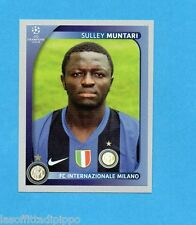PANINI-CHAMPIONS 2008/2009-Fig.308- MUNTARI - INTER -NEW BLACK