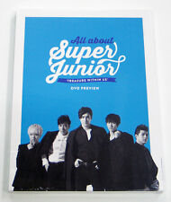 SUPER JUNIOR - All About Super Junior TREASURE WITHIN US DVD Preview PHOTOBOOK