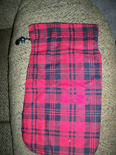 Plaid Hot Water Bottle Cover