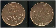 SLOVAQUIE 50 halierov 1996