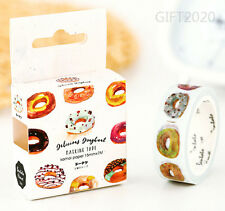 Delicious Donuts Paper Sticky Adhesive Sticker Decorative Washi Masking Tape