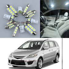 NEWEST Premium White Light Interior LED Package 10x for Mazda 5 2006-2010 L7