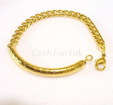 18K Yellow Gold Plated Bangle Length (inches 7.9) 20cm Women Bangle or Bracelet