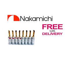8x qualità 24k Oro Nakamichi BFA Spine A Banana UK