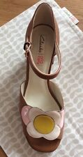 Orla Kiely Clarks, Betty Tan Shoes In Size 6.5, EUR 40, Vintage Style