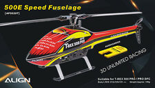 ALIGN HF5020 500E Speed Fuselage – Red & Yellow 2777g