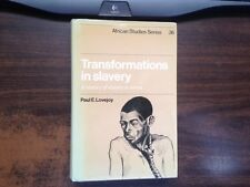 Transformations in Slavery by Paul Lovejoy 1st Hardcover w/ Dust Jacket Ex
