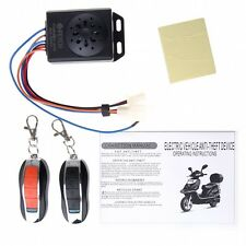 Motorcycle Bike Anti-theft Security Alarm System Remote Engine Start