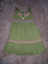 Girls GYMBOREE Green Summer  Dress Size 3 Worn Once or Twice!