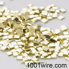 14k Yellow Gold Chip Solder-1 X 1mm, 1 Pennyweight(1.55 Grams), Easy