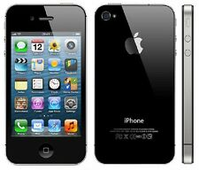 "NEW Black Apple iPhone 4S GSM Worldwide Factory Unlocked Smartphone 3.5"" 64GB"