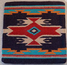 Wool Pillow Cover HIMAYPC-48 Hand Woven Southwest Southwestern 18X18