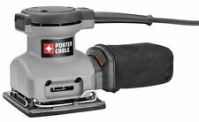 PORTER-CABLE 380 1/4 Sheet Orbital Finish Palm Sander , New, Free Shipping