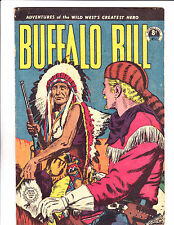 "Buffalo Bill No 41 1950's -Austrailian -""Bill & Chief On Horseback Cover !  """