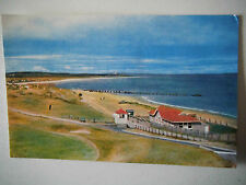 West Beach Lossiemouth from Golf Course Old Postcard M&L National Series
