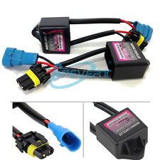 2x Hid Xenon Anti-flicker Error Warning Canceller CANBUS Capacitor Decodificador