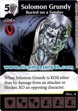 Solomon Grundy Buried on a Sunday #130 - Justice League - DC Dice Masters