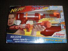 Brand New NERF Super Soaker BOTTLE BLITZ Water Pistol BLASTER Red