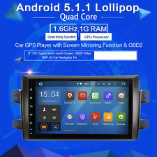 GPS Navi FOR Suzuki SX4 2006-2011 stereo Broswe Android 5.1 9in HD screen WIFI