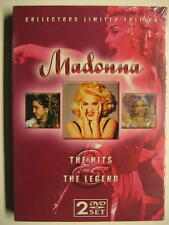 "MADONNA ""THE HITS & THE LEGEND"" - 2 DVD SET - COLLECTORS LIMITED EDITION"