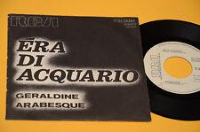 "7"" 45 (NO LP ) ERA DI ACQUARIO 1°ST ORIG ITALY PROG 1972 EX+ PROMO EDITION !"