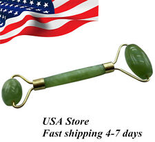 China Ancient Face Body SPA Massage Roller Facial Massager Jade Stone Anti-aging