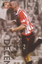 SUNDERLAND: STEPHEN WRIGHT SIGNED A4 (12x8) OFFICIAL CALENDAR PICTURE+COA