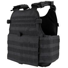 CONDOR MOPC MOLLE Operator Plate Carrier Body Armor Chest Assault Rig Vest BLACK