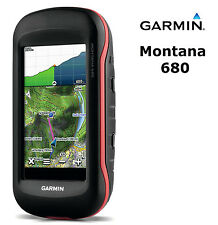 Garmin Montana 680 GPS Worldwide Handheld Touchscreen Outdoor Navigation Camera
