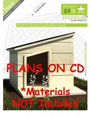DOG HOUSE PLANS - Step By Step CAD Drawings - How To Build a Doghouse Guide - 14