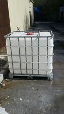 IBC Water Tank. 1000 Litre IBC Container. Water Storage