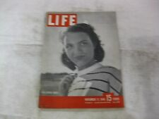 Life Magazine November 11th 1946 High School Model Cover Published By Time mg348