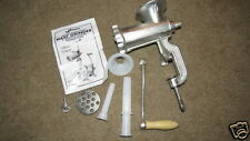 EXCELLENT Weston Deluxe Heavy-Duty Meat Grinder & Sausage Stuffer