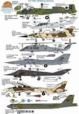 Wolfpak Decals 72-092 Shifting Sand Mirage OA-10 OV-10 HH-60G f-111E F-117A F-14