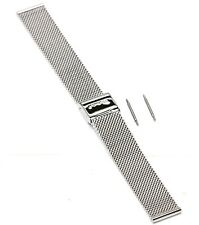 Genuine Mondaine Mesh Steel Watch Strap/Bracelet 22mm BRAND NEW & ORIGINAL