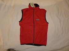 Hincapie Mens Cycling Tour Vest Red Windtex Extra Small New