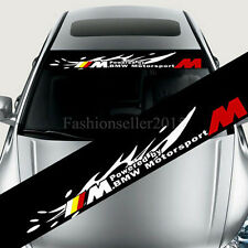 Front Windshield Banner Decal Vinyl Car Stickers for BMW bmw Auto Accessories De